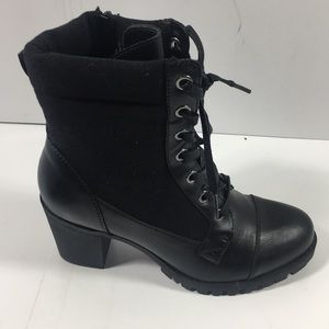 "Women's XOXO CARLEY 3"" blk BOOTS"